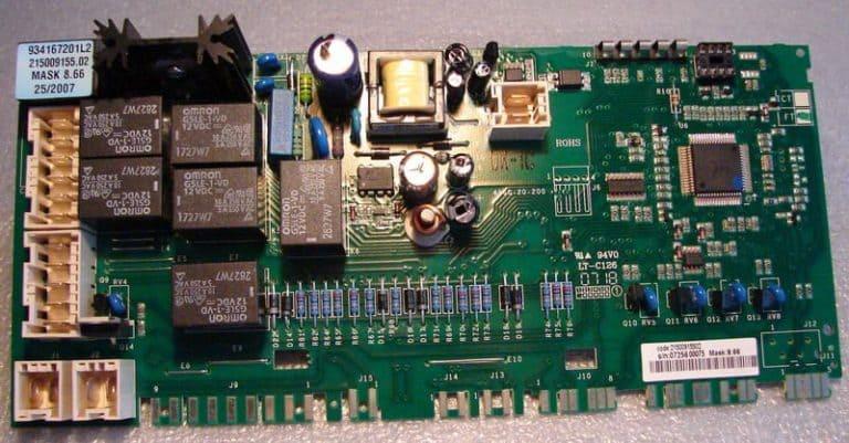 Перегорела плата, замена резистора, реле, конденсатора, симистора
